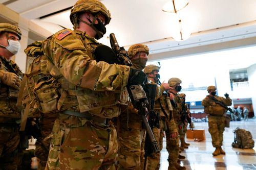 Washington Beefs Up Security Ahead of Presidential Inauguration