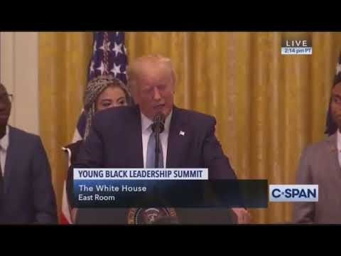 I Met President Trump! He put me on Stage!