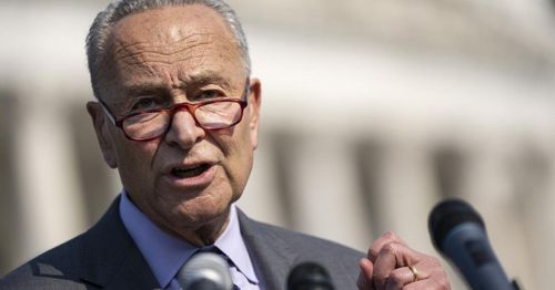 Schumer: $1.2 trillion bipartisan infrastructure bill is 'on track,' will be finished in days