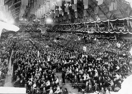 National Progressive Convention, Chicago, August 6, 1912.