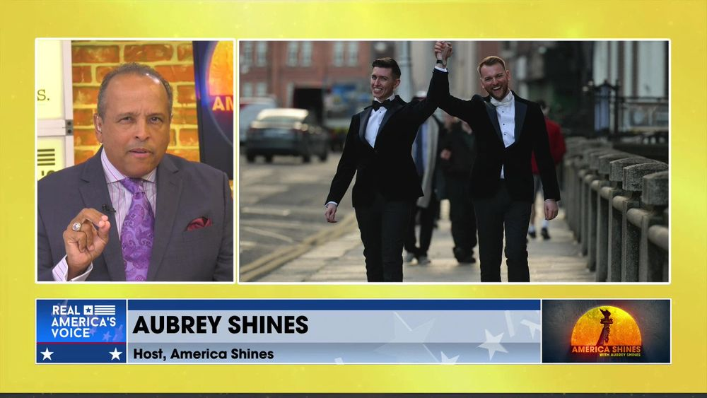 The Bottom Line, With Aubrey Shines - Don't Buy Into the Propaganda That You See About Gay Marriage