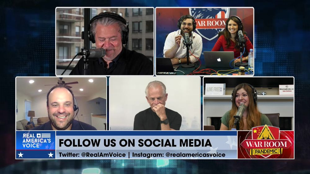 War Room Pandemic with Stephen K Bannon Episode 1065 Part 4