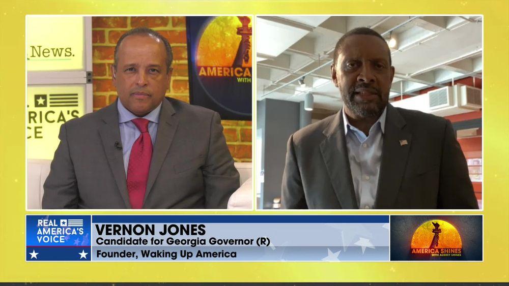 Aubrey Shines is Joined by Georgia Gubernatorial Candidate (R), Vernon Jones Pt 1