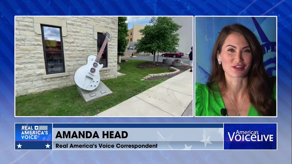 Amanda Head Joins Us From the Save America Bus Tour