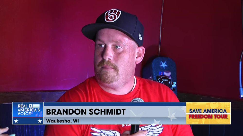 Brandon Schmidt Waukesha, WI Joins Amanda Head Live