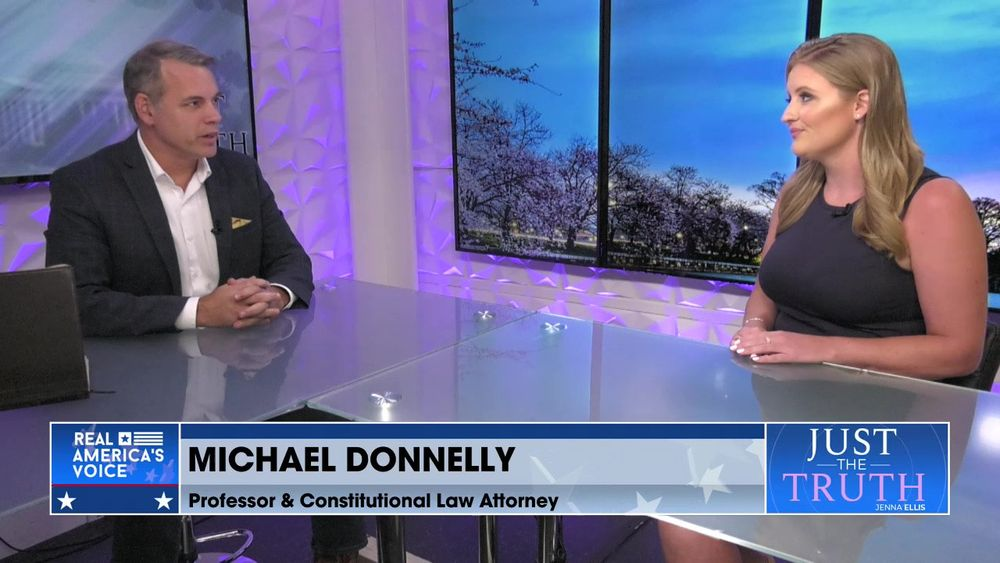 Jenna Ellis is Joined By Constitutional Law Attorney, Michael Donnelly Part 3