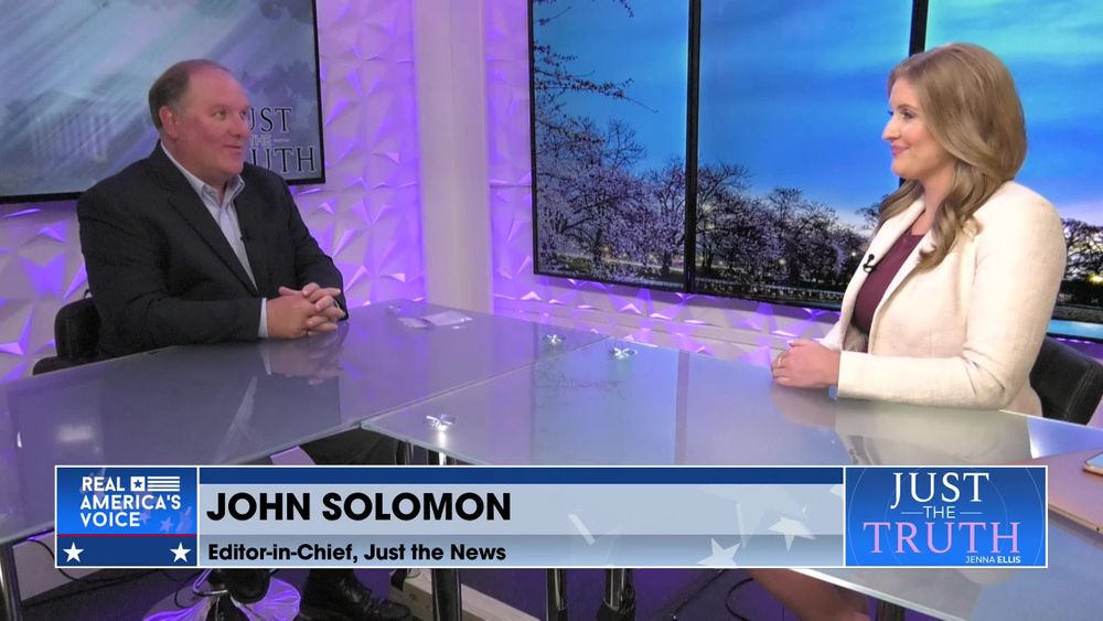 Jenna Ellis is Joined By Editor-in-Chief of Just the News, John Solomon Part 1