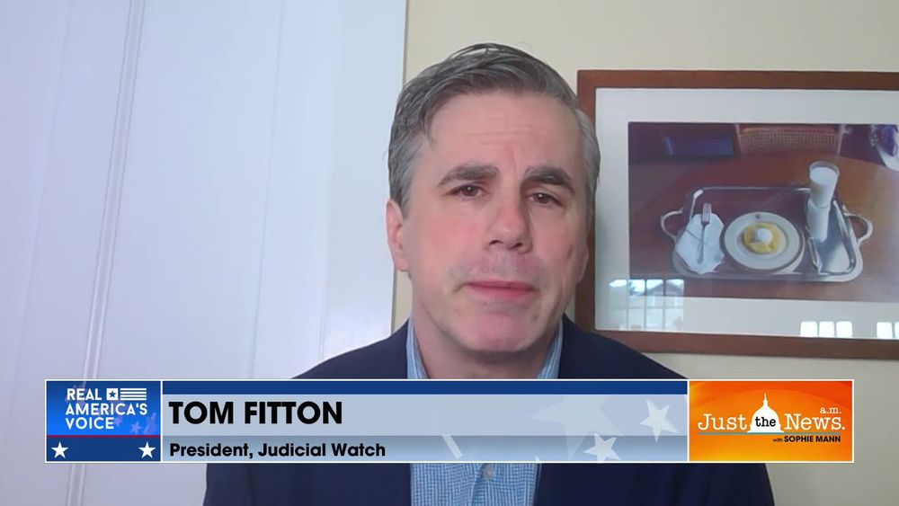 Tom Fitton - Documents from NIH show Dr. Fauci oversaw more than $800k to Wuhan lab