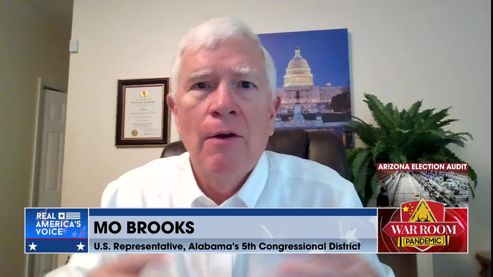 Congressman Brooks Discusses the Election Fraud from the 2020 Presidential Election
