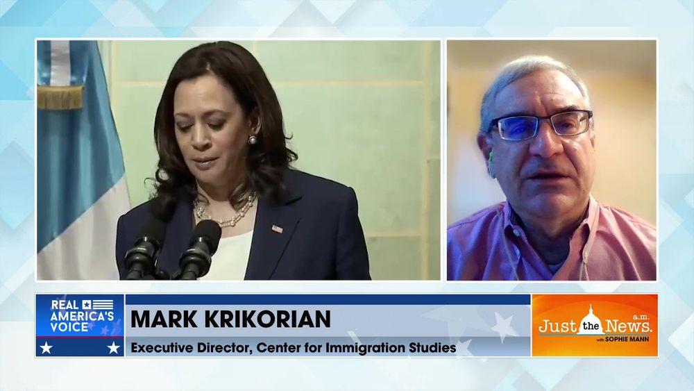Mark Krikorian - Trump border visit to highlight problems at border VP Harris did not