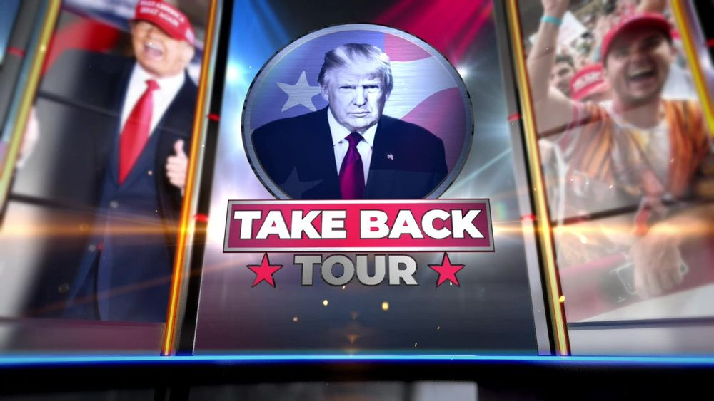 President Trumps Take Back Tour Wellington, OH Part 1