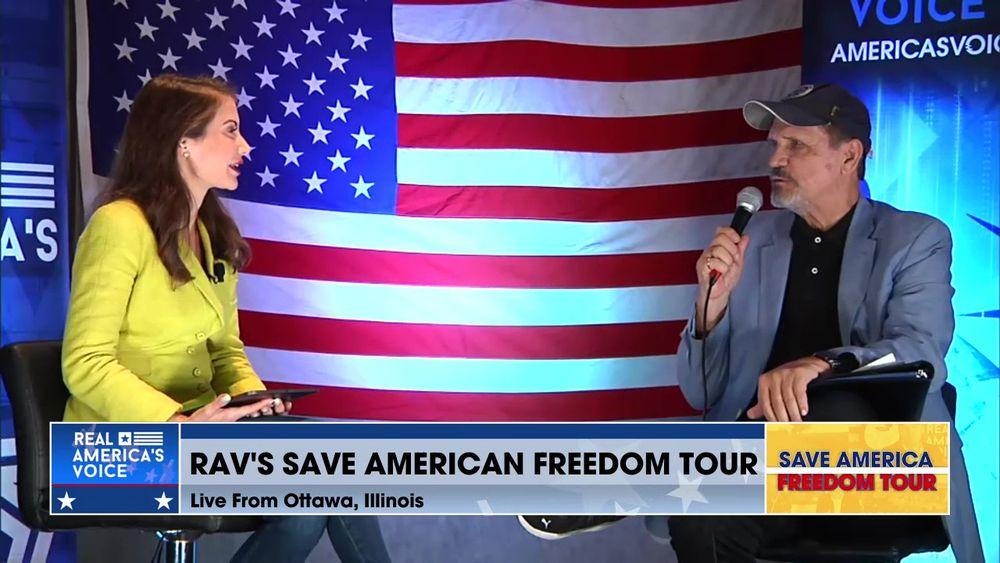 Save America Freedom Tour Ottawa Illinois Part 1