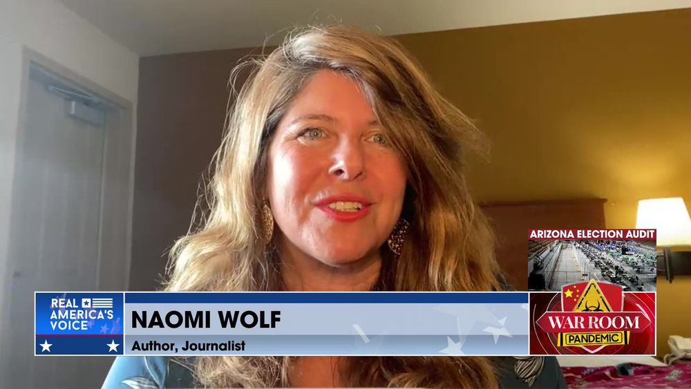 Naomi Wolf Joins War Room to Discuss her Twitter Deplatforming