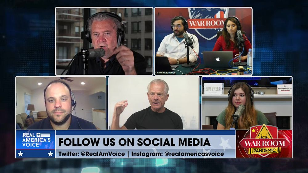 War Room Pandemic with Stephen K Bannon Episode 1065 Part 3